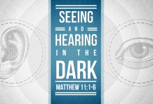 Seeing and Hearing In the Dark