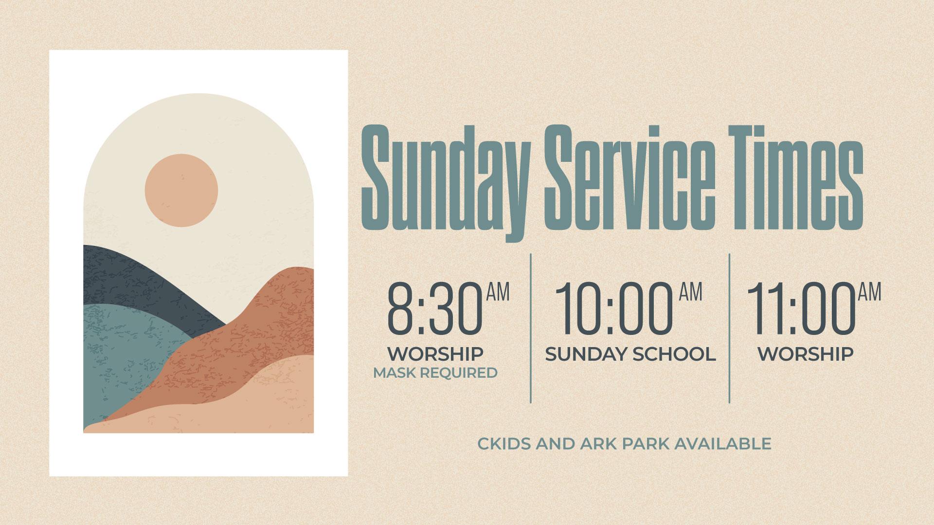 sunday-service-times